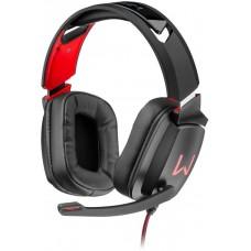 Headset Gamer Warrior Kaden Stereo, RGB, Preto/Vermelho, PH301