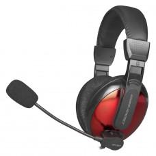 Headset Gamer XTRIKE-ME HP-307, Com Fio, Black/Red, HP307BK - Open Box