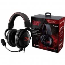 Headset HyperX Cloud Core Kingston Red/Black KHX-HSCC-BK-LR