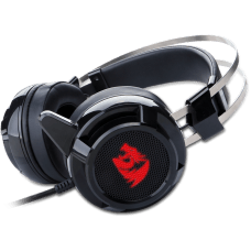 Headset Redragon Siren H301, Surround 7.1, Led, Black