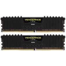 Kit Dual Channel Memória DDR4 Corsair Vengeance LPX, 8GB (2x4GB) 2400MHz, CMK4GX4M1A2400C16 - X2
