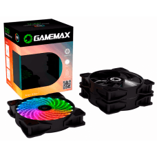 Kit Fan com 3 Unidades Gamemax CL300, RGB 120mm, com Controlador
