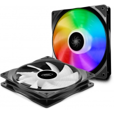 Kit Fan com 2 Unidades Deepcool CF140 RGB 140mm, DP-FA-RGB-CF140-2