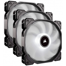 Kit Fan com 3 Unidades Corsair AF120, Led White 120mm, CO-9050082-WW