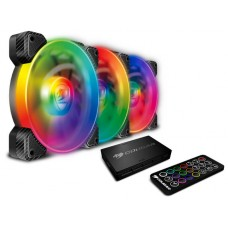 Kit Fan com 3 Unidades Cougar Vortex, RGB, SPB, 120mm, 3MSPBKIT.0001
