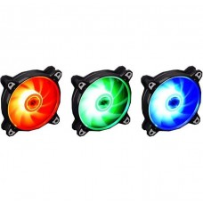 Kit Fan com 3 Unidades Lian Li BR Lite RGB 120mm, Black