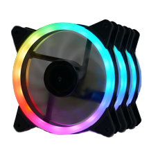 Kit Fan com 3 Unidades Redragon GC-F011, RGB, 120mm, GC-F011