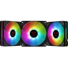 Kit Fan com 3 Unidades Riotoro Quiet Storm, LED RGB 120mm, FRGB120-QS168X
