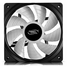 Kit Fan com 3 Unidades Deepcool RF120, RGB 120mm, DP-FRGB-RF120-3C