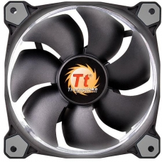 Kit Fan com 3 Unidades Thermaltake Riing 12, LED White 120mm, CL-F055-PL12WT-A