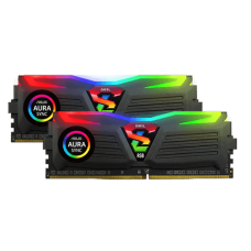 Kit Memória DDR4 Geil Super Luce RGB, 16GB (2X8GB) 3000MHz, Black, GALS48GB3000C16ASC