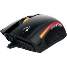Kit MousePad NYX E1 + Mouse Gamer Gamdias Zeus E2 RGB, 3200 DPI, 6 Botões Programáveis, Black