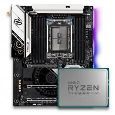 KIT Placa Mãe Asrock TRX40 TAICHI + Processador AMD Ryzen Threadripper 3970X - OPEN BOX