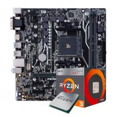 Kit Upgrade, AMD Ryzen 3 2200G, ASUS Prime A320M-K