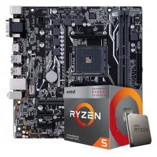 Kit Upgrade, AMD Ryzen 5 3400G, Asus Prime A320M-K