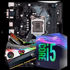 Kit Upgrade, Intel Core i5 9400F, Asus Prime H310M-E, Memória 8GB 3000MHz