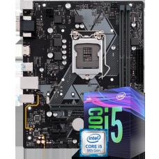 Kit Upgrade Placa Mãe Asus Prime H310M-E LGA 1151 + Processador Intel Core i5 9400F 2.90GHz