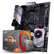 Kit Upgrade Placa Mãe Colorful CVN X570 GAMING PRO V14, AMD AM4 + Processador AMD Ryzen 7 3700x 3.6GHz