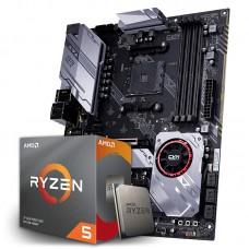 Kit Upgrade Placa Mãe Colorful CVN X570 GAMING PRO V14, AMD AM4 + Processador AMD Ryzen 5 3600x 3.8ghz