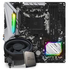 Kit Upgrade, AMD Ryzen 5 3600, ASRock B450M Steel Legend