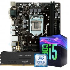 Kit Upgrade Placa Mãe Biostar B360MHD PRO 2 LGA 1151 + Processador Intel Core i5 9400F 2.90GHz + Memória DDR4 8GB 3000MHz