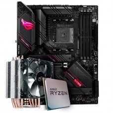 Kit Upgrade, AMD Ryzen 7 3800X, Asus ROG Strix B550-E Gaming, Cooler Deepcool Gammaxx