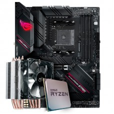 Kit Upgrade, AMD Ryzen 7 3800X, Asus ROGStrix B550-F Gaming WI-FI, Cooler Deepcool Gammaxx