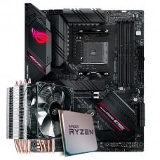 Kit Upgrade, AMD Ryzen 7 3800X,Asus ROG Strix B550-F Gaming, Cooler Deepcool Gammaxx