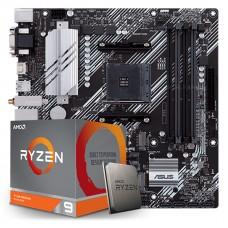 Kit Upgrade, AMD Ryzen 9 3900XT, Asus Prime B550M-A Wi-fi
