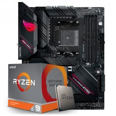 Kit Upgrade, AMD Ryzen 9 3900XT, Asus Rog Strix B550-F Gaming WI-FI