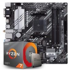Kit Upgrade, AMD Ryzen 7 3700X, Asus Prime B550M-A Wi-fi