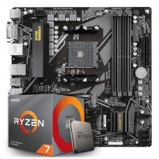 Kit Upgrade, AMD Ryzen 7 3700X, Gigabyte B550M DS3H