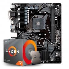 Kit Upgrade, AMD Ryzen 7 3700X, Gigabyte B550M S2H