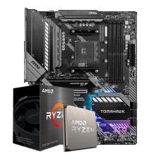 Kit Upgrade Placa Mãe MSI MAG B550 TOMAHAWK AM4 + Processador AMD Ryzen 5 5600X