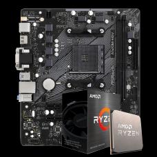 Kit Upgrade, AMD Ryzen 5 5600X, AsRock A520M-HDV