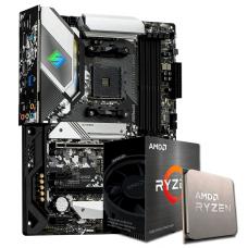 Kit Upgrade, AMD Ryzen 5 5600X, AsRock B550 Steel Legend