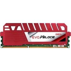 Memória DDR3 Geil Evo Veloce 4GB, 1600MHz, Red, GEV34GB1600C11SC