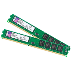 Memória DDR3 Kingston 8GB (2X4GB) 1333MHz, KVR1333D3N9/4G