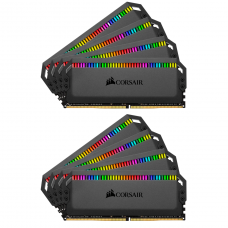 Memória DDR4 Corsair Dominator Platinum RGB, 64GB (8x8GB), 3200MHz, CMT64GX4M8C3200C16