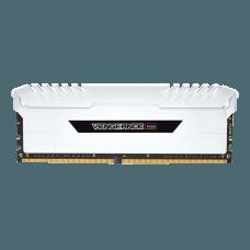 Memória DDR4 Corsair Vengeance, LED RGB, 16GB (2x8GB) 3000MHz, White, CMR16GX4M2C3000C15W
