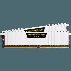 Memória DDR4 Corsair Vengeance LPX, 32GB (2X16GB) 3000MHZ, White, CMK32GX4M2B3000C15W
