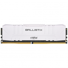 Memória DDR4 Crucial Ballistix, 8GB, 3000Hz, White, BL8G30C15U4W