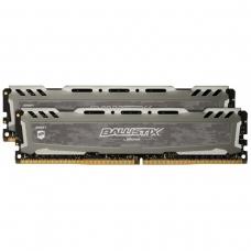 Memória DDR4 Crucial Ballistix Sport Lt, 32GB (2x16GB) 3000MHz, Grey, BLS2K16G4D30BESB
