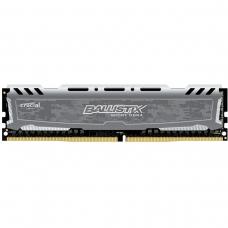Memória DDR4 Crucial Ballistix Sport LT, 16GB 2400MHz, Grey, BLS16G4D240FSB