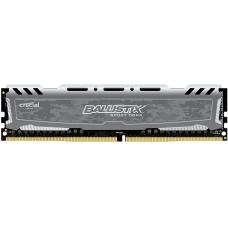 Memória DDR4 Crucial Ballistix Sport LT, 8GB 2400MHz, Grey, BLS8G4D240FSB