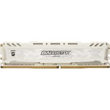 Memória DDR4 Crucial Ballistix Sport Lt, 8GB 3000MHz, White, BLS8G4D30AESCK