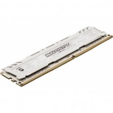 Memória DDR4 Crucial Ballistix Sport LT, 8GB 2666MHz, White, BLS8G4D26BFSCK