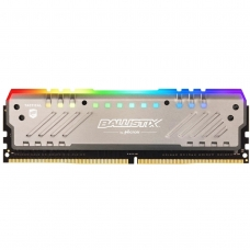 Memória DDR4 Crucial Ballistix Tactical Tracer RGB, 8GB 2666MHz, Grey, BLT8G4D26BFT4K