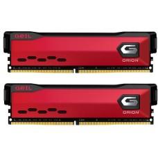 Memória DDR4 Geil Orion, 16GB (2x8GB) 3200MHz, Red, GAOR416GB3200C16ADC