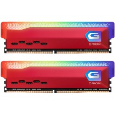 Memória DDR4 Geil Orion, Edição AMD, 16GB (2x8GB) 3000MHz, RGB, Red, GAOSR416GB3000C16ADC